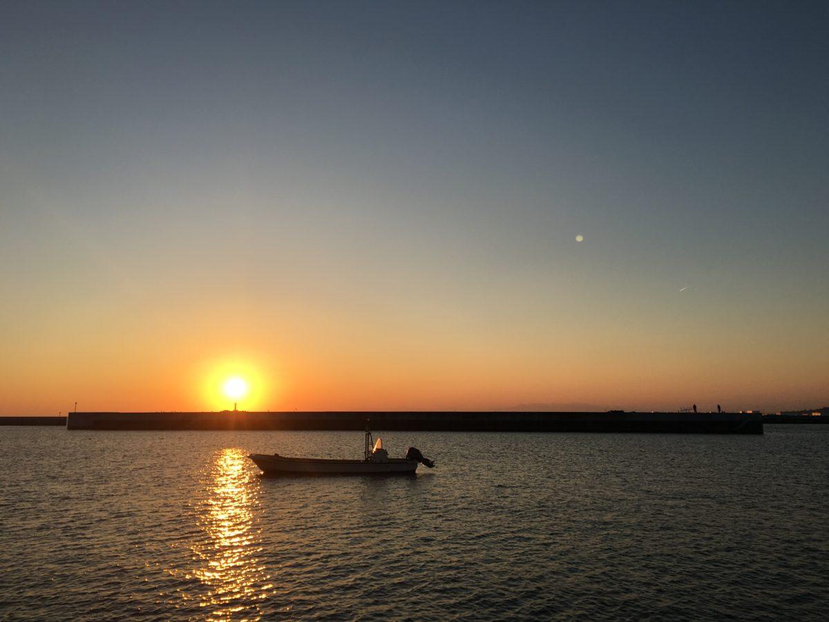 夕まずめ佐須浜へ