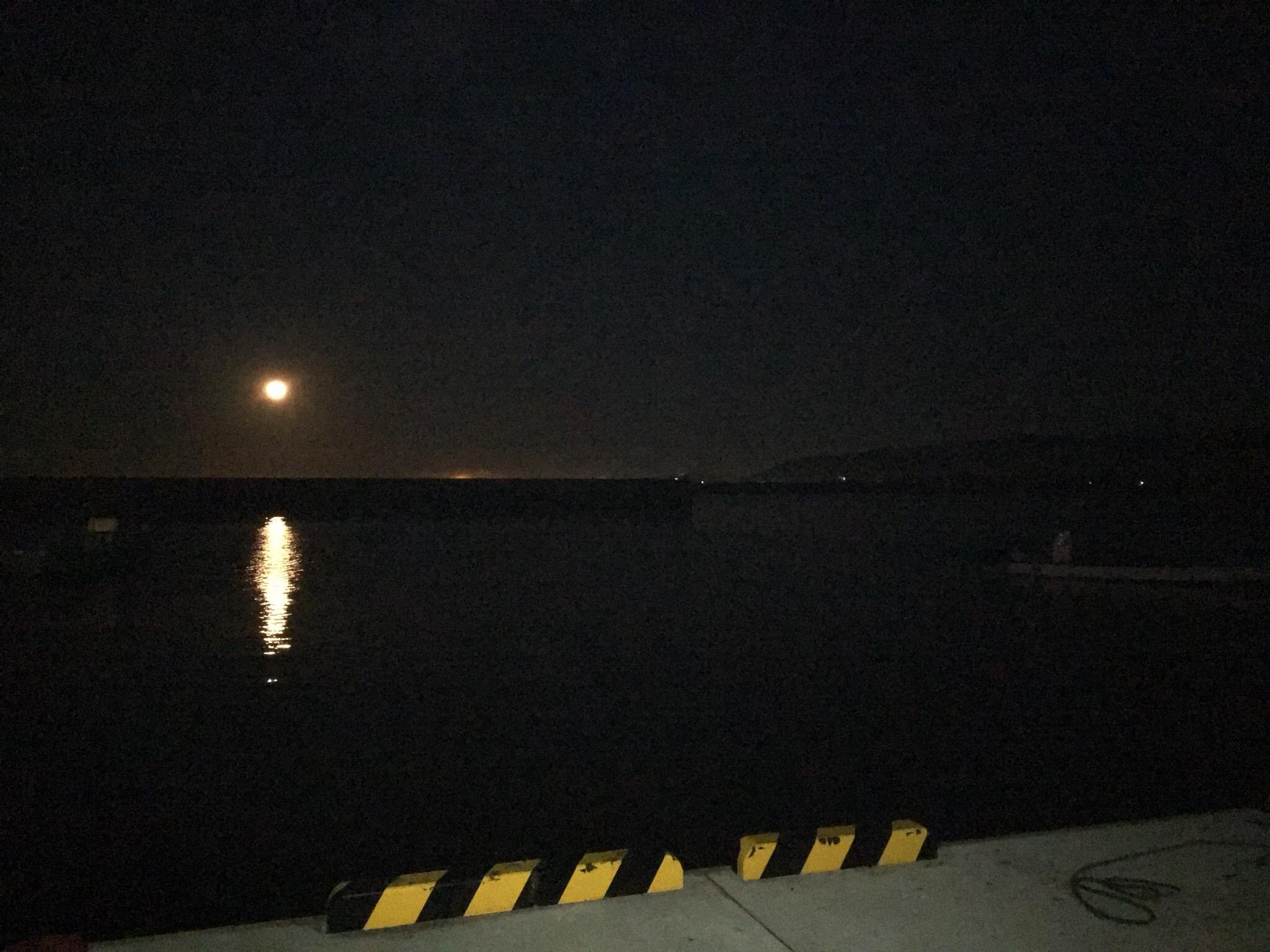 佐須浜の夜明け